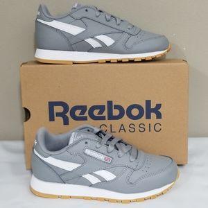 NWT Kids Reebok Classic Leather Sneakers